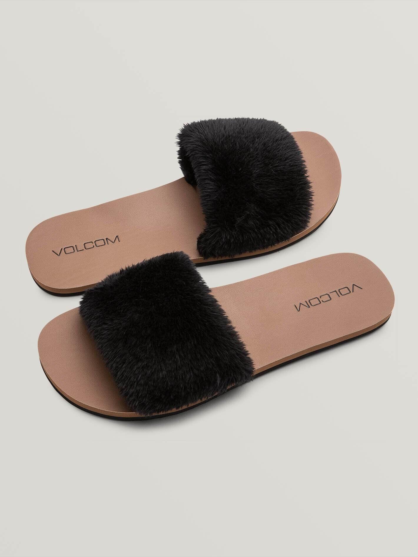 volcom Sandales Volcom For Shear Black Femme
