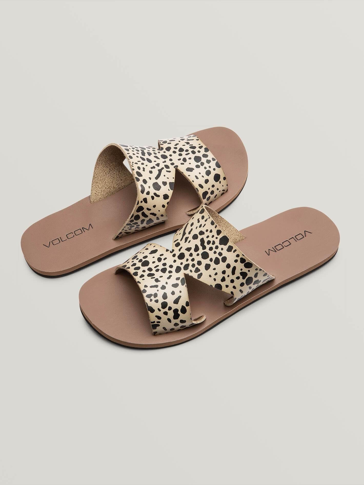 volcom Sandales Volcom Seeing Stones Leopard Femme