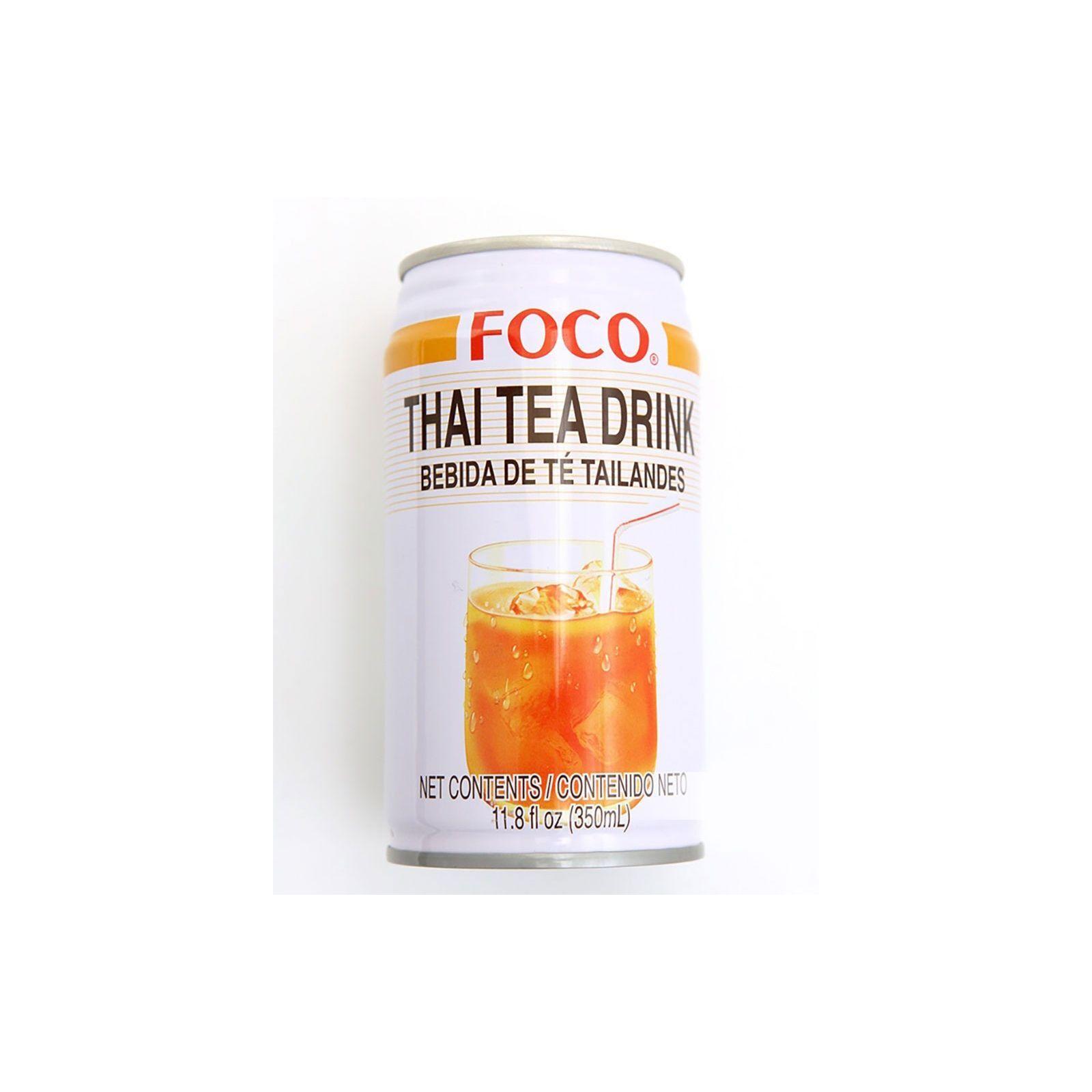 Asia Marché Thé au lait Thaï 33cl Foco
