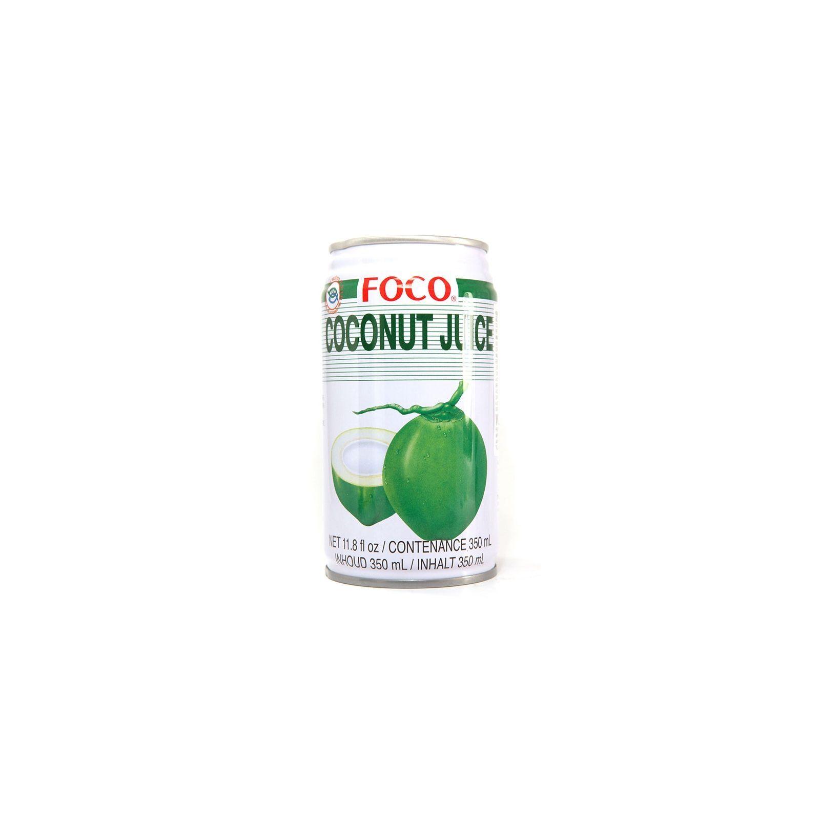 Asia Marché Jus de coco vert Foco 33cl ou 50cl 33cl