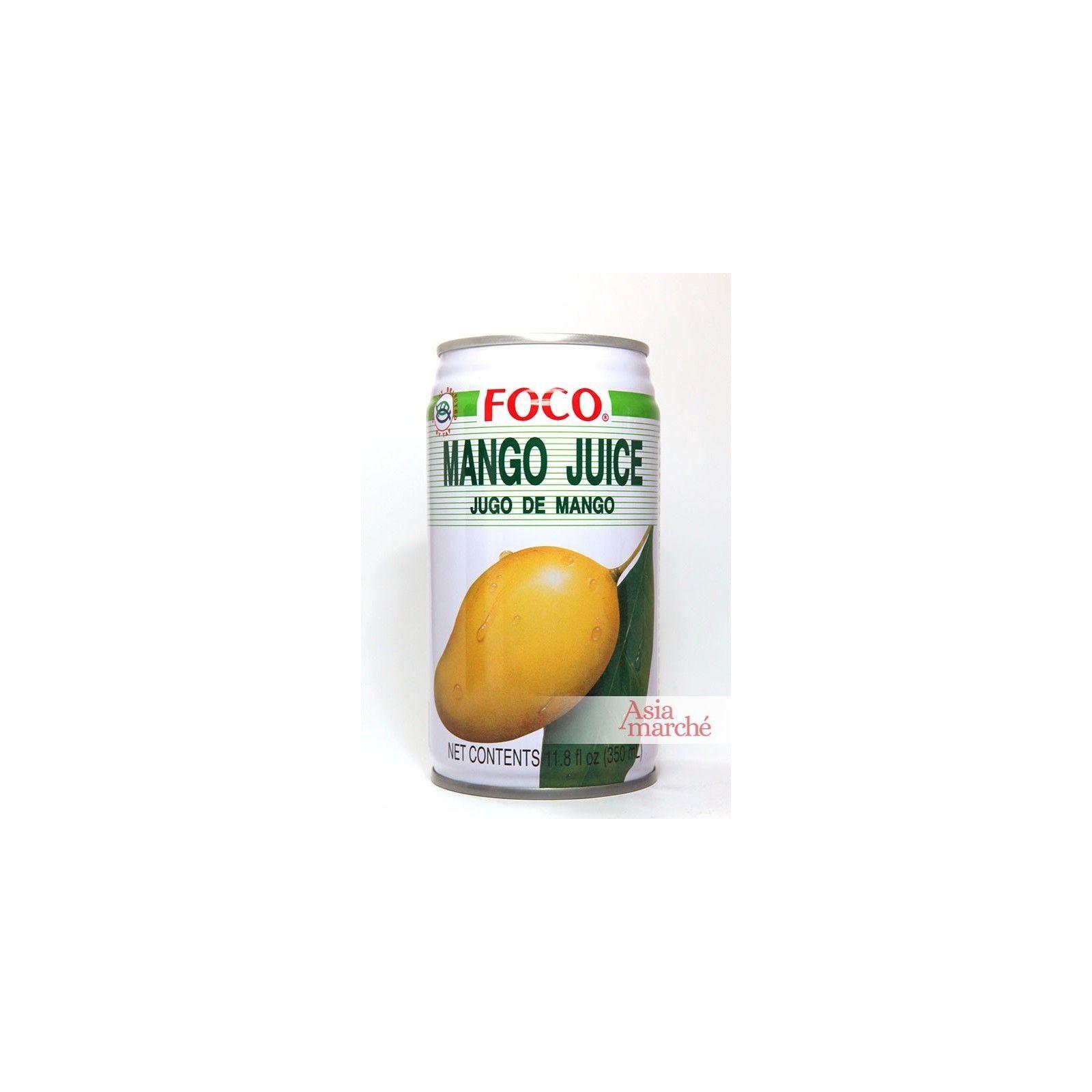 Asia Marché Jus de Mangue Thaï 33cl Foco