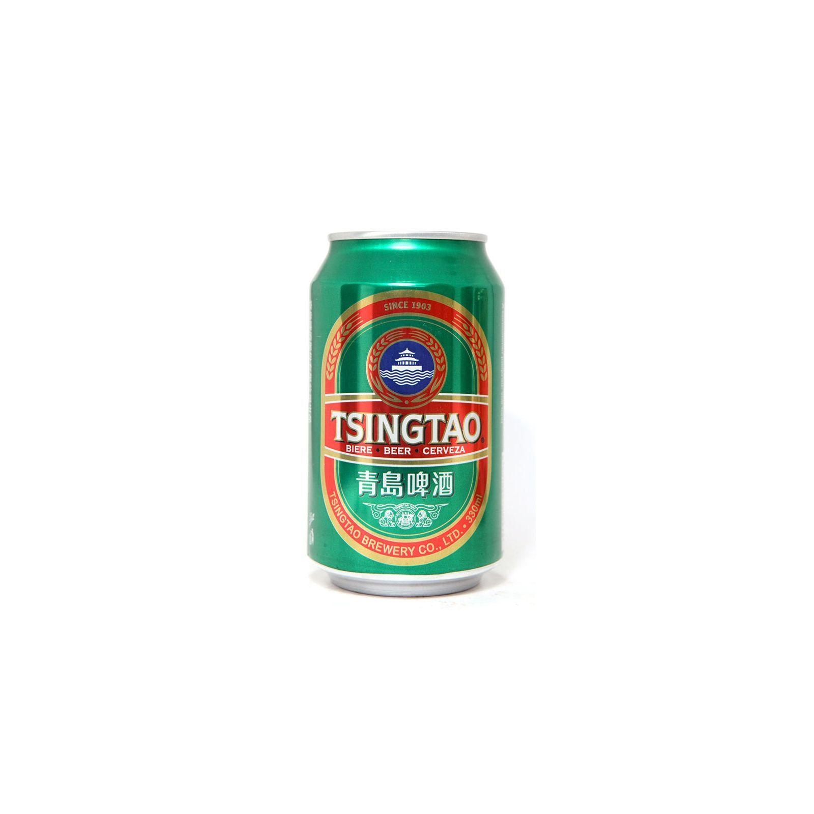 Asia Marché Bière Chinoise Tsingtao 33cl canette (4,7°)