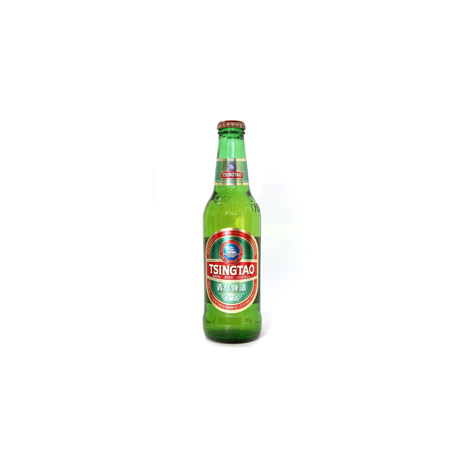 Asia Marché Bière Chinoise Tsingtao 33cl bouteille (4,7°)