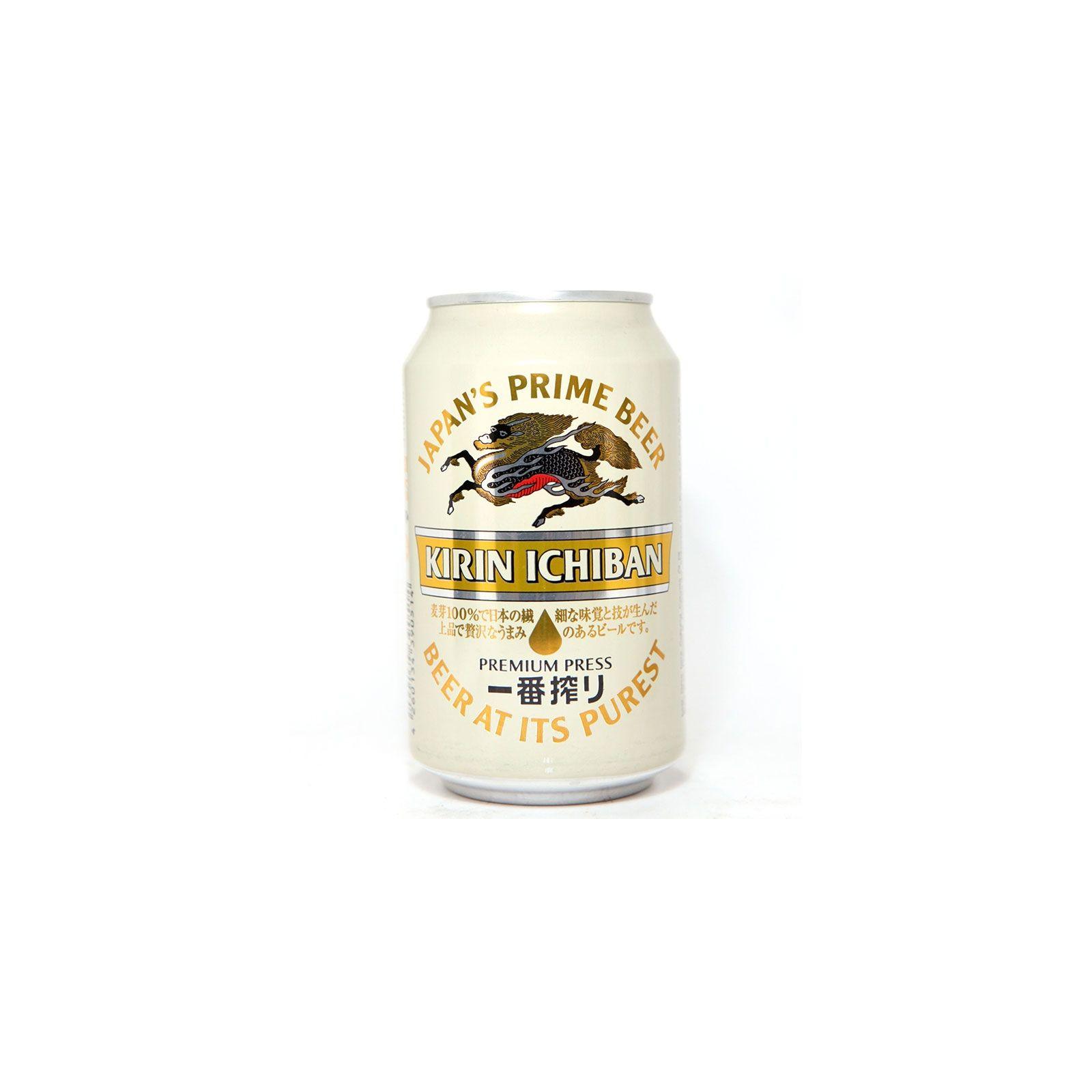 Asia Marché Bière Japonaise Kirin Ichiban 33cl canette (5°)
