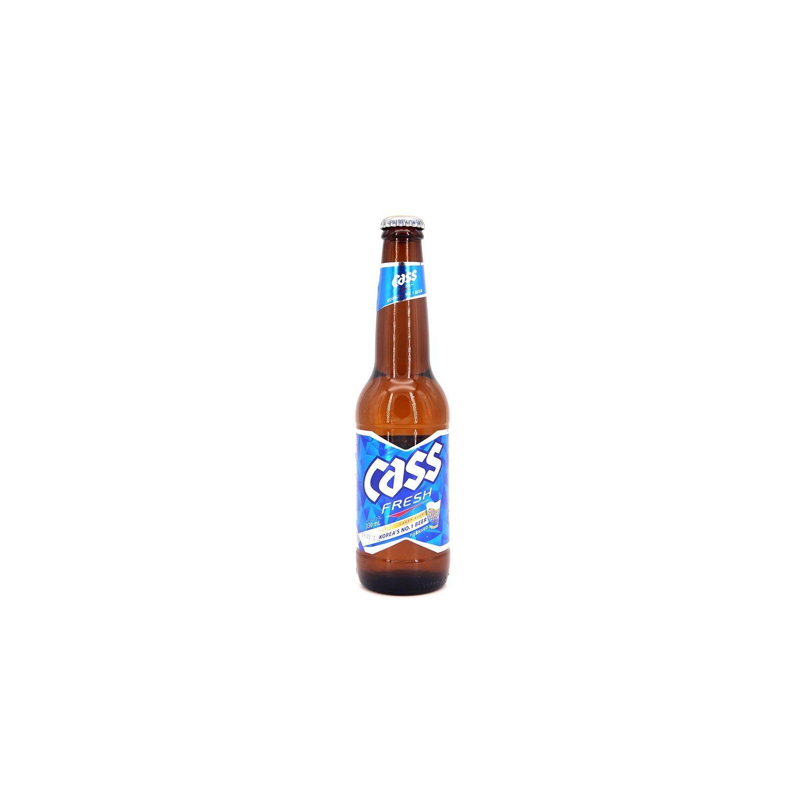 Asia Marché Bière Cass Coréenne 33cl bouteille