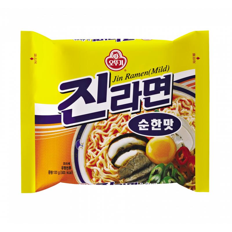 Asia Marché Soupe de nouilles Jin Ramyon 120g Ottogi Lot de 10