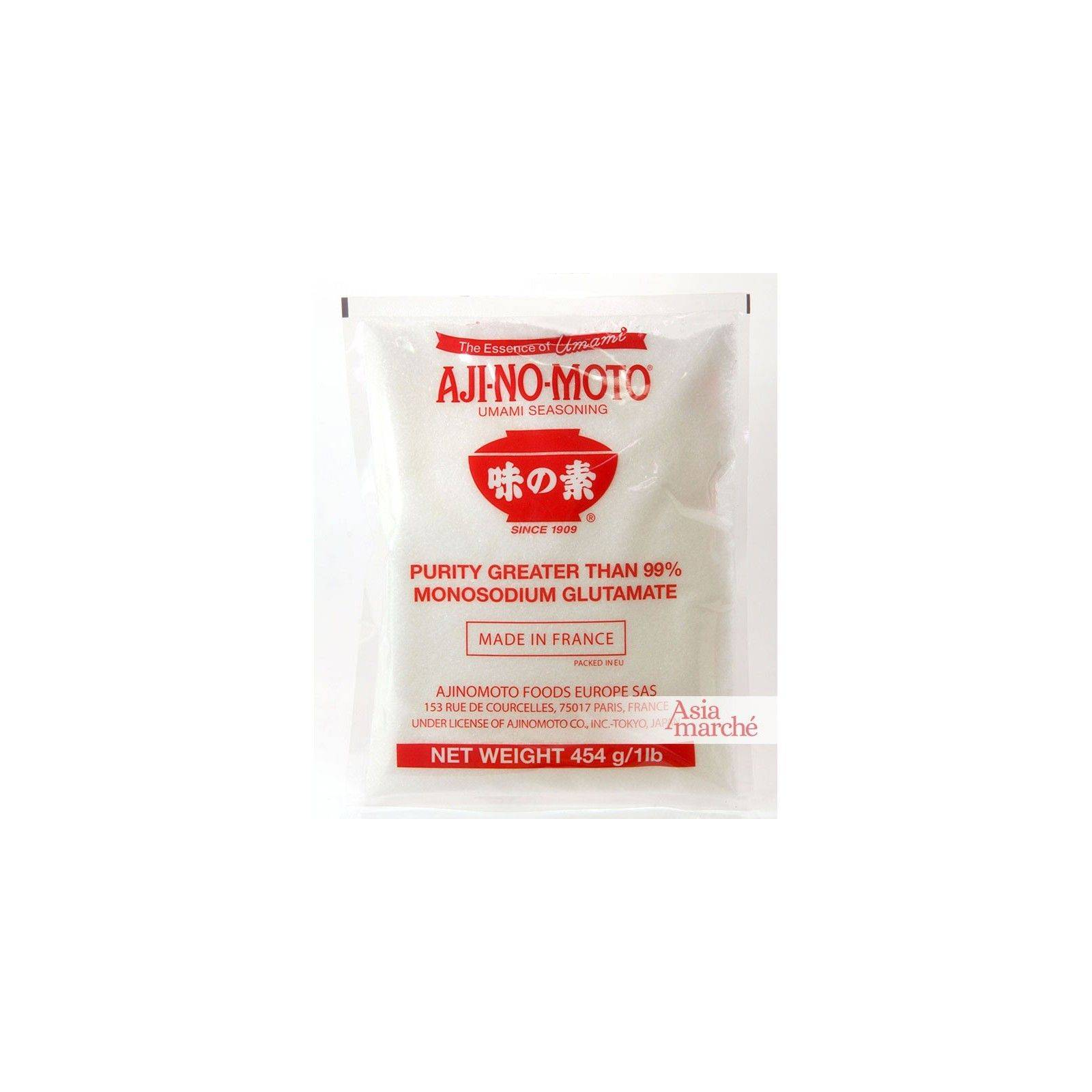 Asia Marché Glutamate Ajinomoto 454g