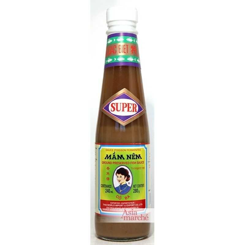 Asia Marché Sauce poissons fermentés Mam nêm 200ml Co Ba