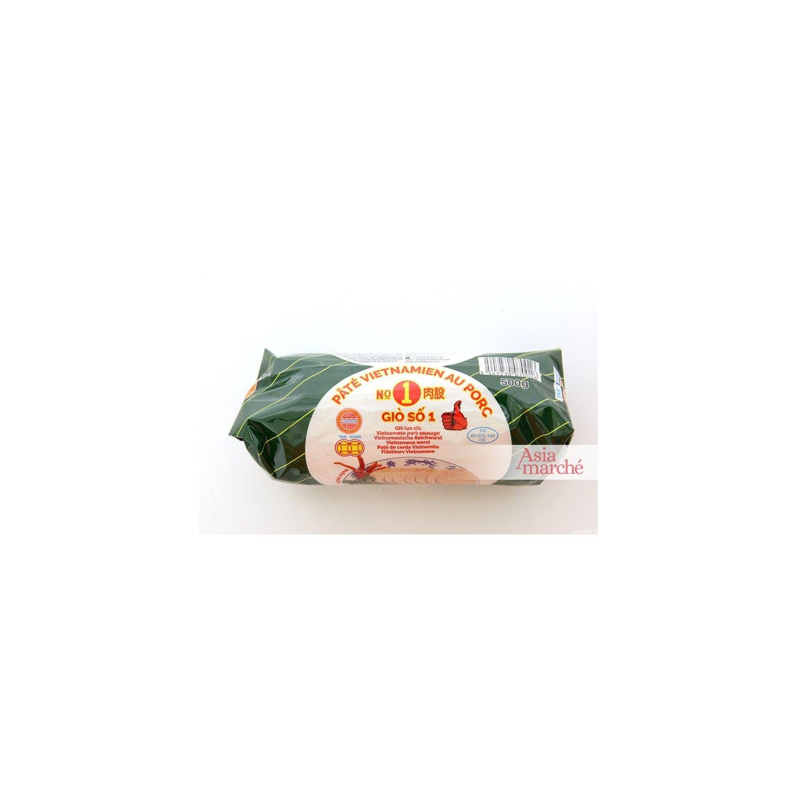 Asia Marché Gio Dac Biet, Pâté Vietnamien au porc (sans couenne) 500g