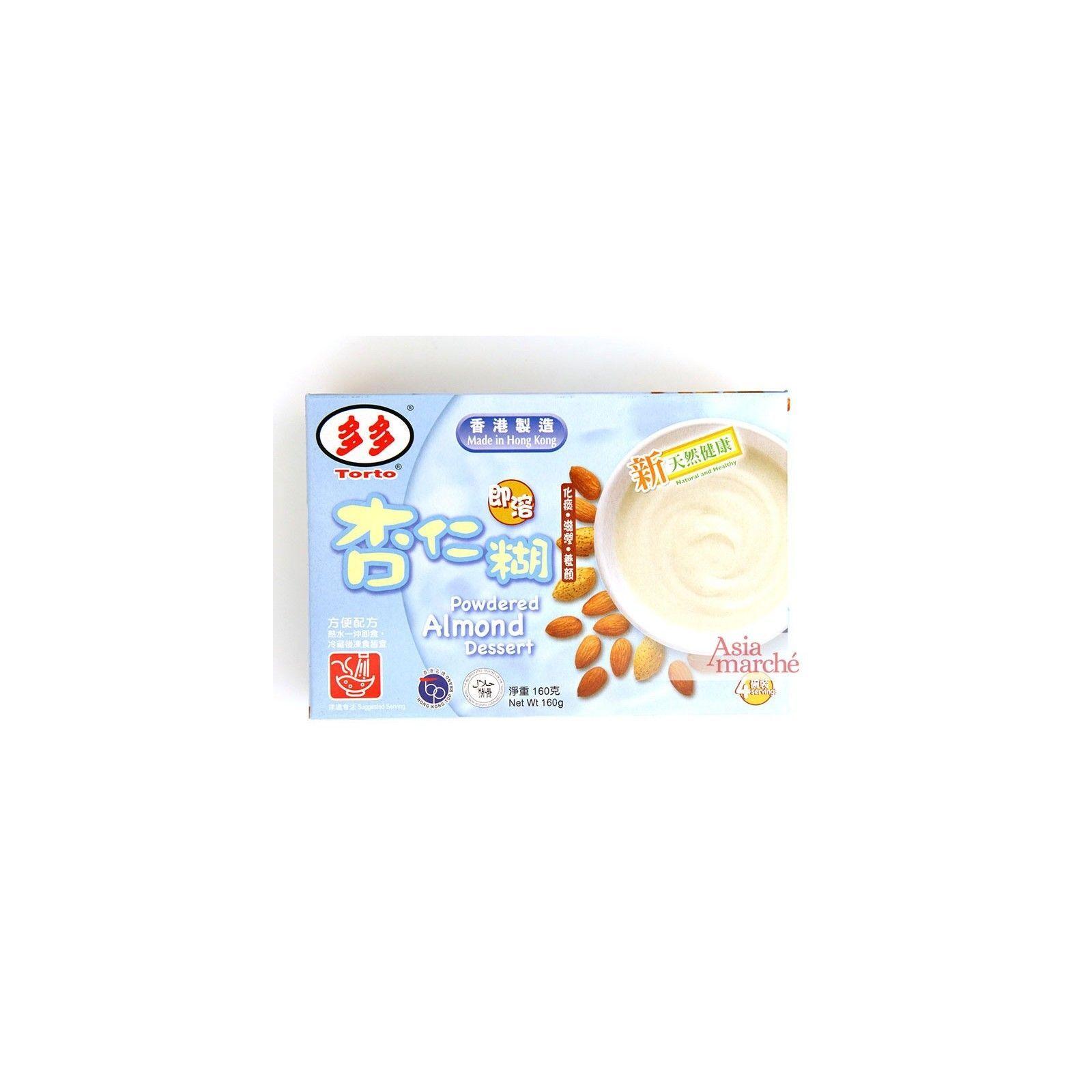 Asia Marché Crème dessert à l'amande 160g