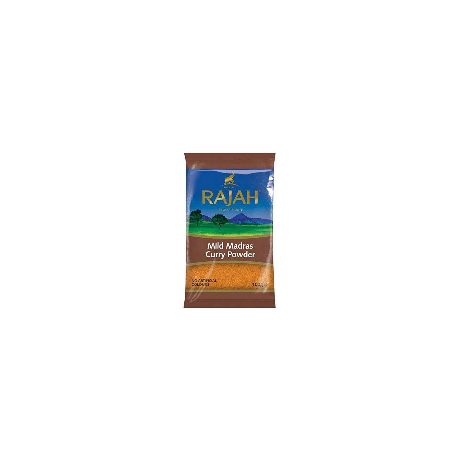 Asia Marché Curry doux Madras Rajah 100g