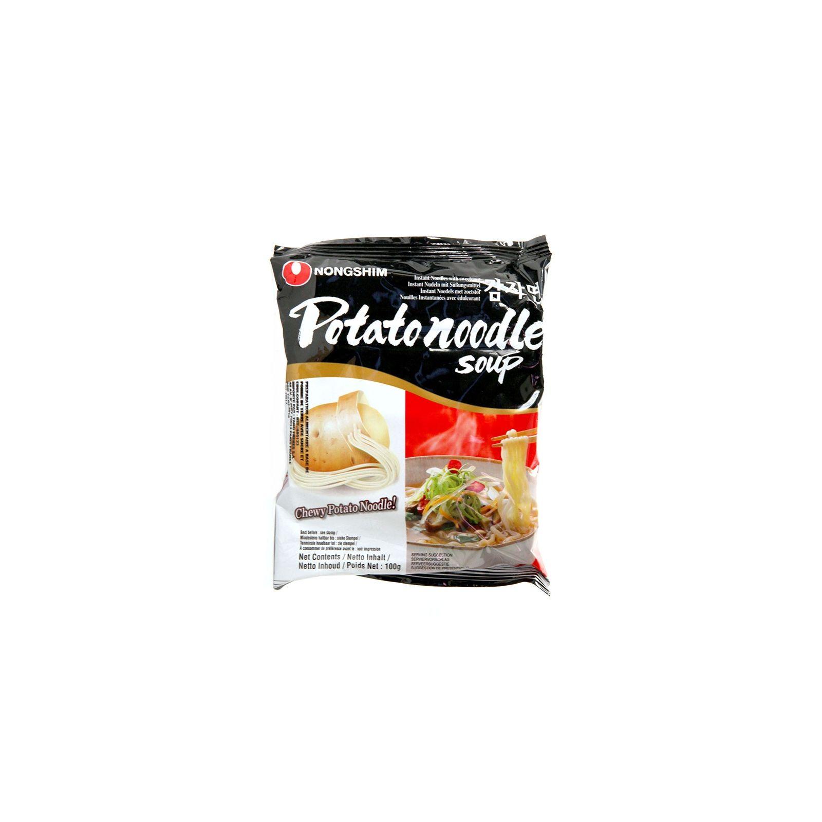 Asia Marché Soupe de pâte de pomme de terre 100g Nongshim Lot de 10