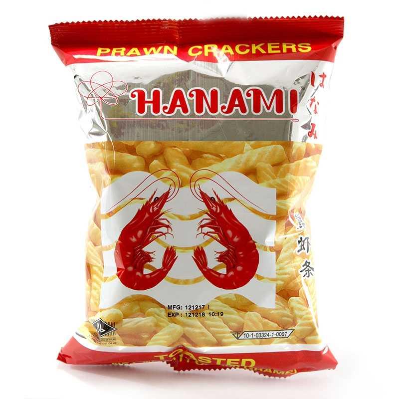 Asia Marché Craquelin saveur crevettes Hanami 60g