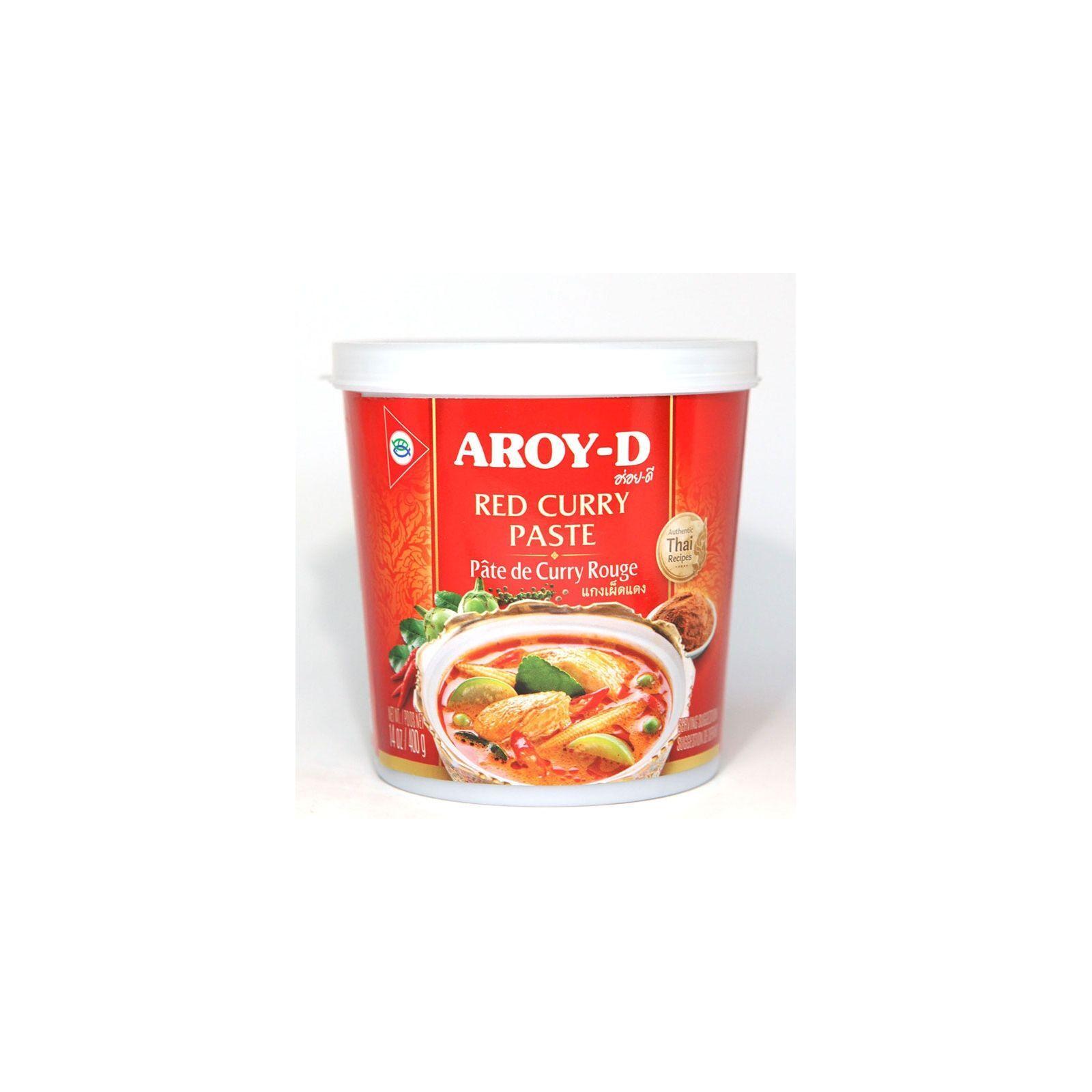 Asia Marché Pâte de curry rouge Thaïe 400g Aroy-D