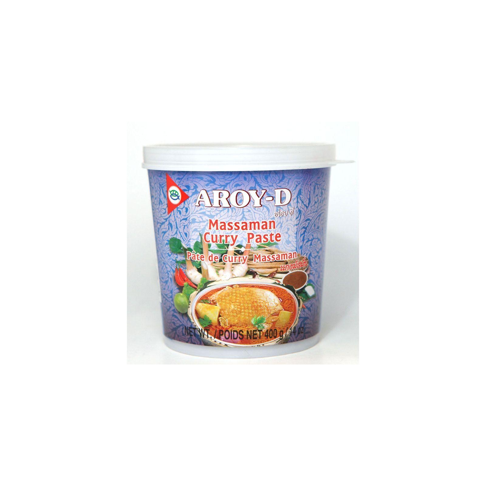 Asia Marché Pâte de curry Massaman 400g Aroy-D