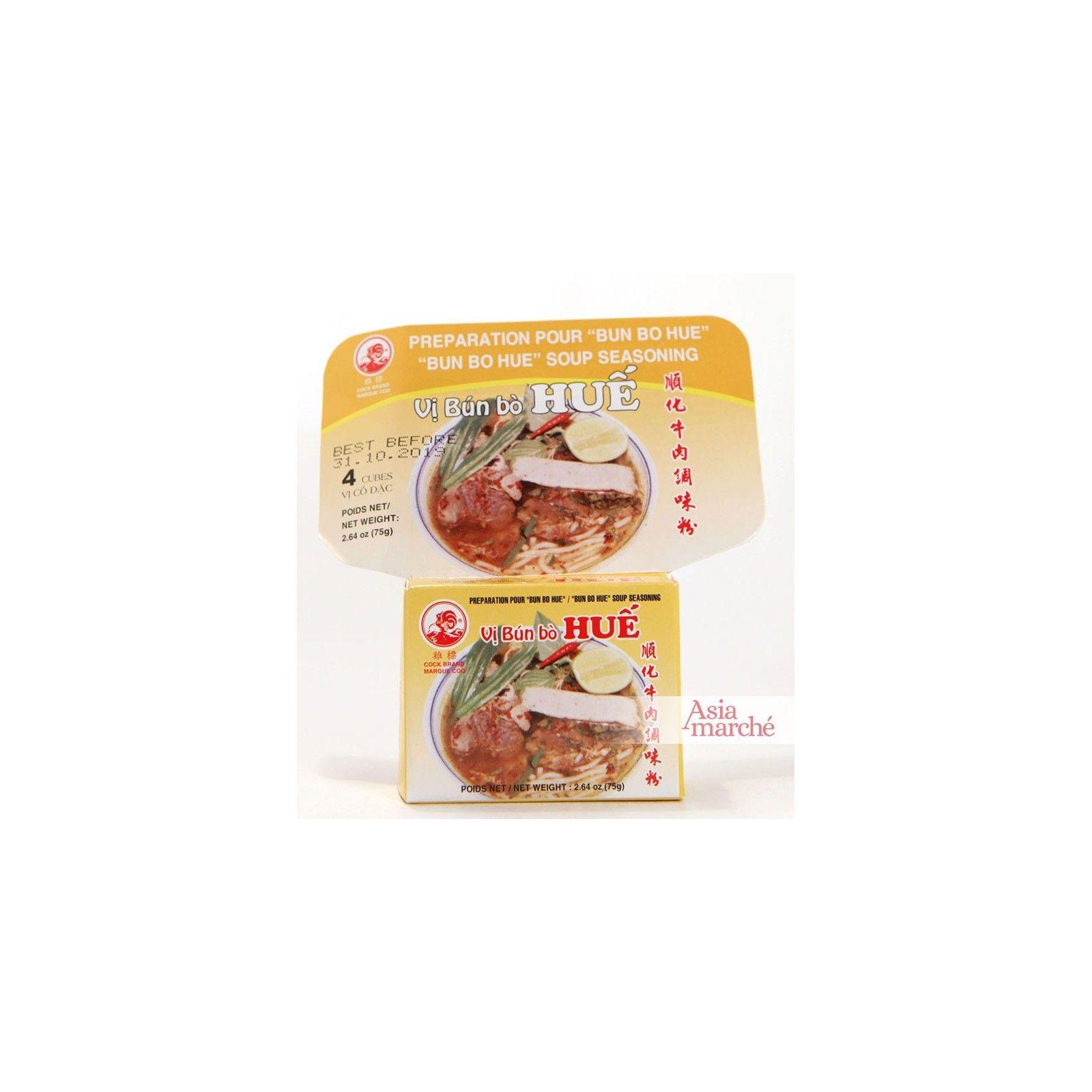 Asia Marché Epices en cube pour Bun Bo Hue 75g