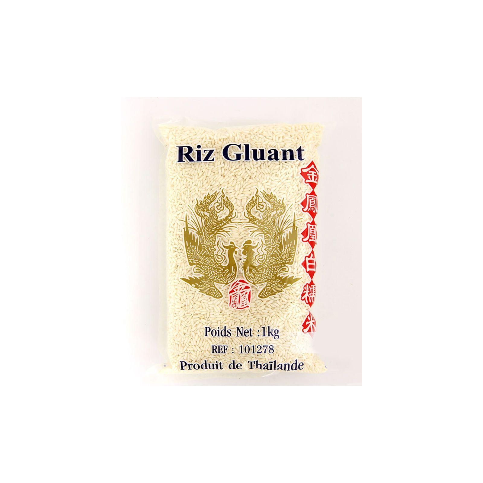 Asia Marché Riz Gluant Oiseaux Célèstes (Phoenix) 1 kg