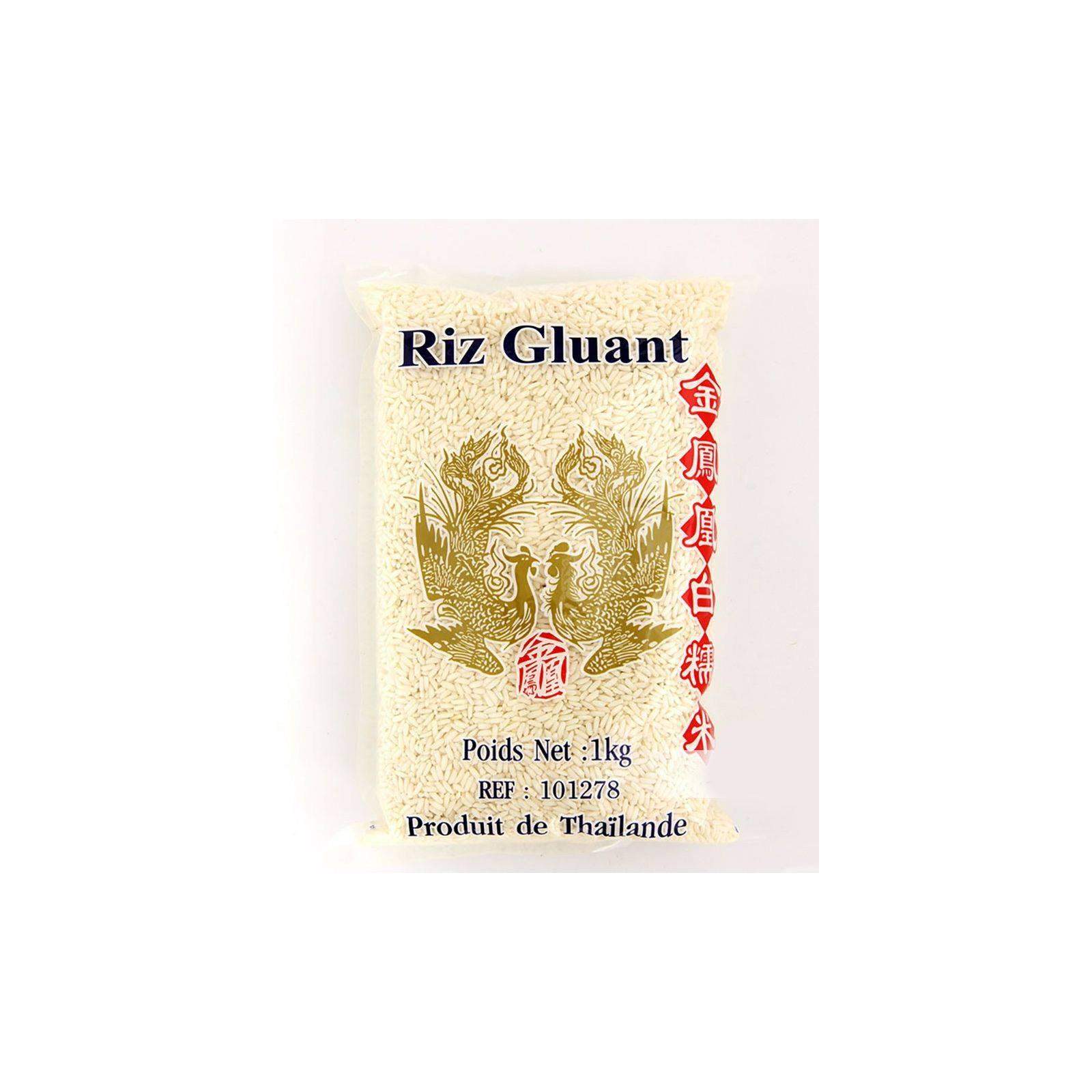 Asia Marché Riz Gluant Oiseaux Célèstes (Phoenix) 5 kg