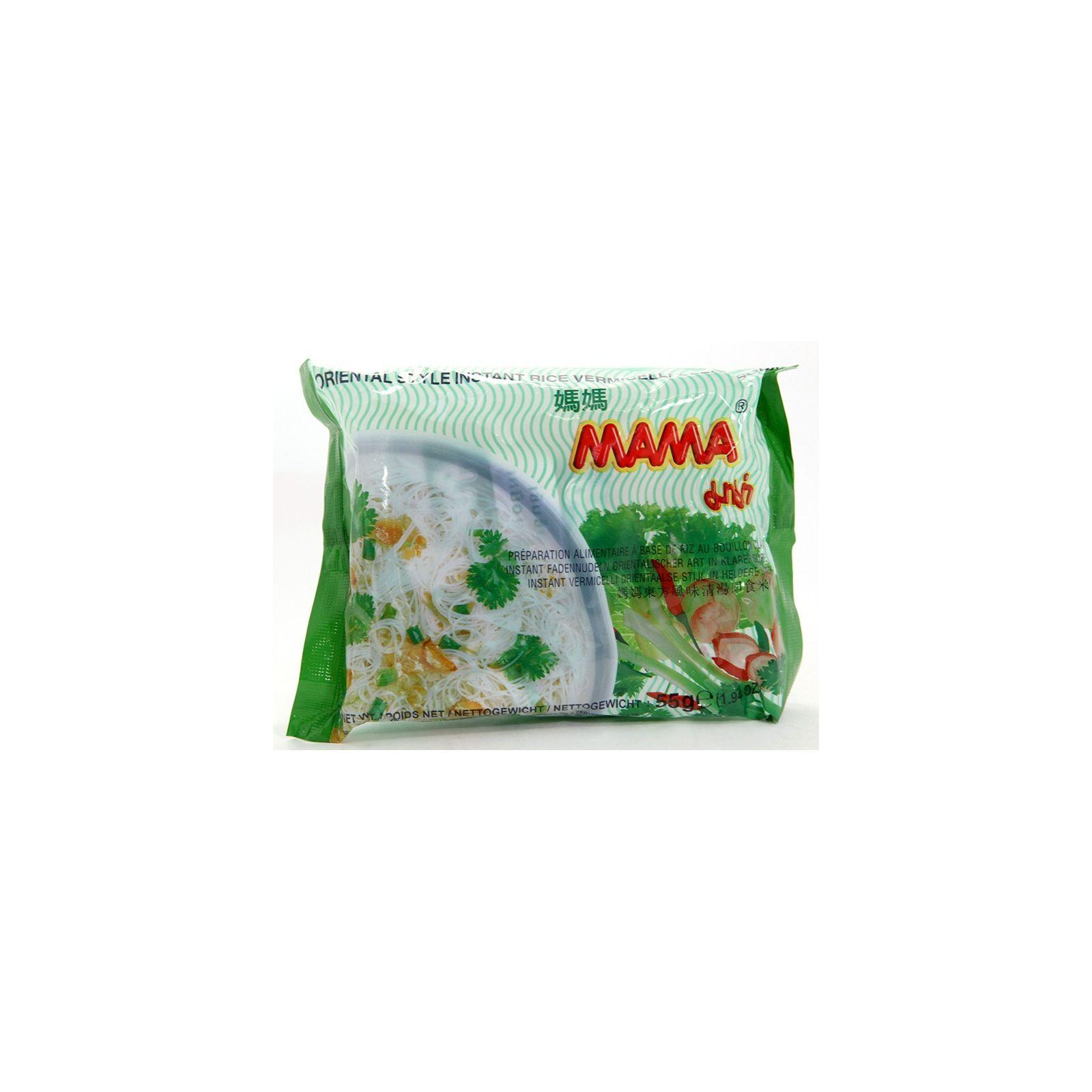 Asia Marché Soupe de vermicelles aux légumes 55g Mama Lot de 30