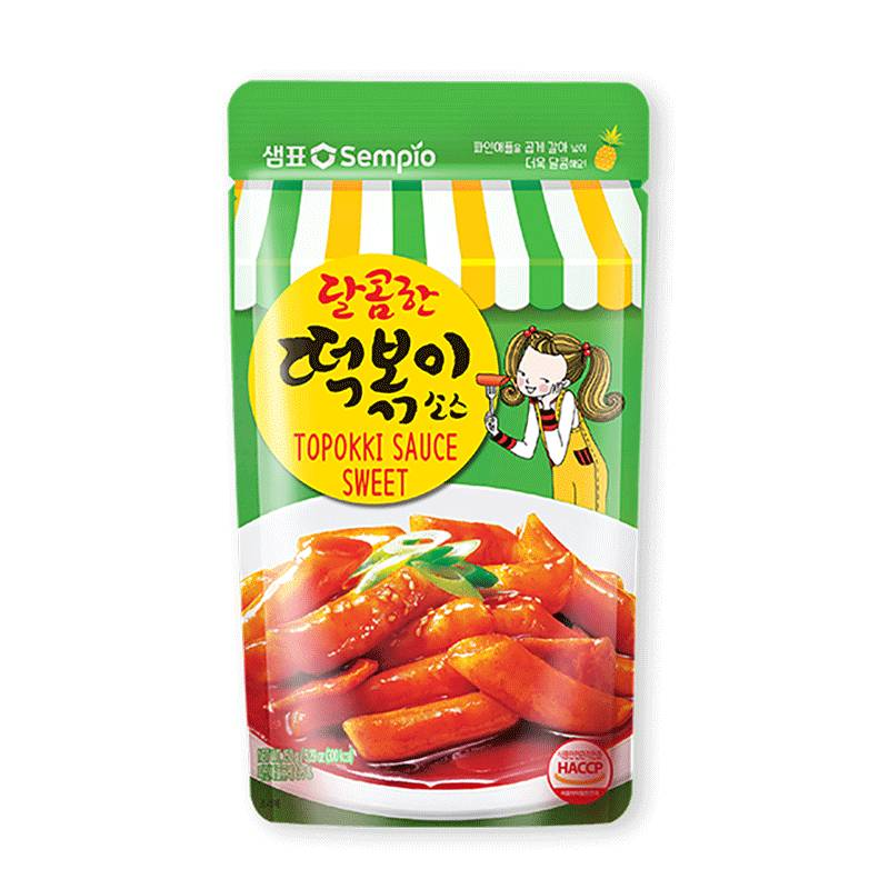 Asia Marché Sauce Topokki ( tteokbokki ) doux 150g SEMPIO