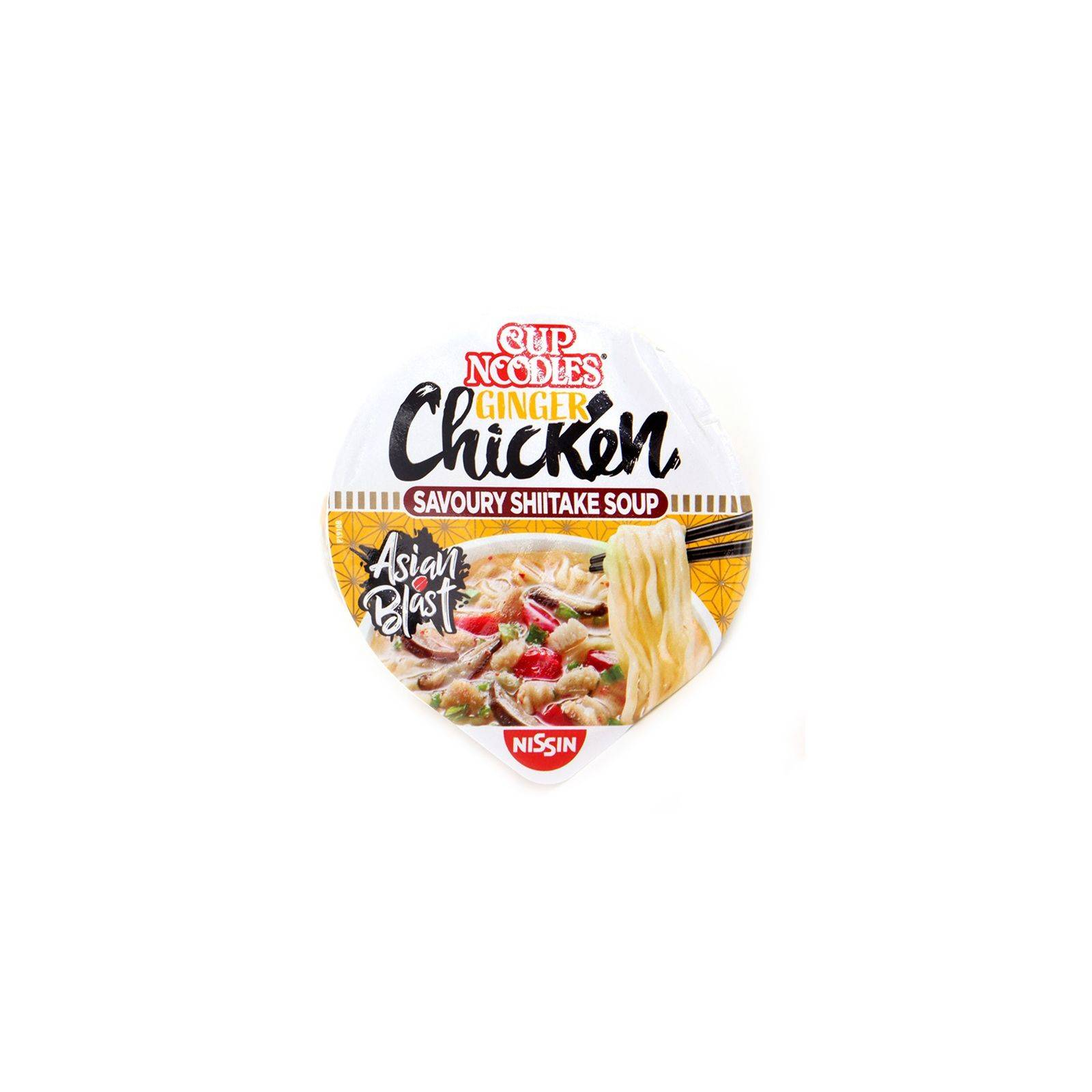 Asia Marché Soupe de nouilles Poulet / Gingembre 63g Cup Noodle