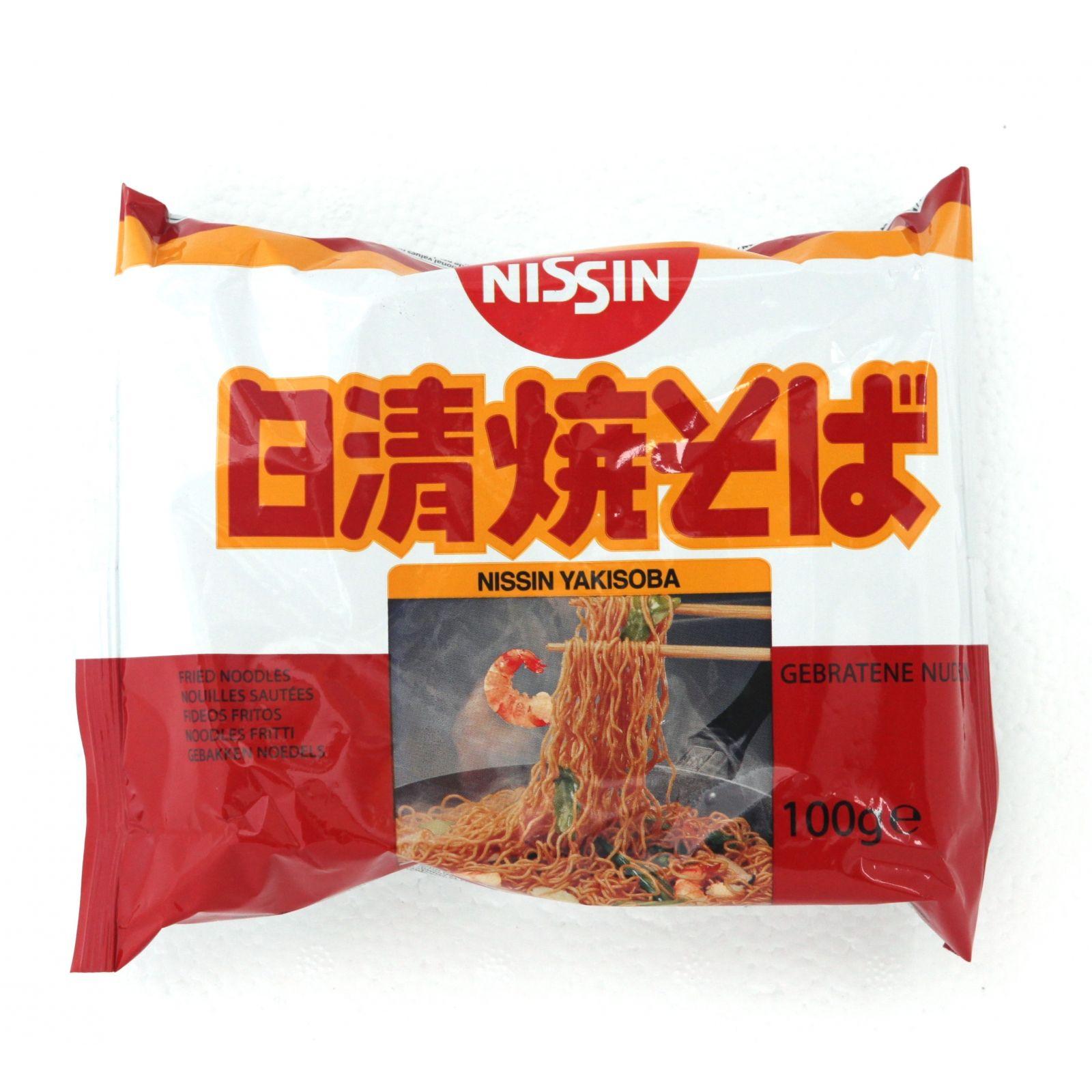 Asia Marché Nouilles sautées Yakisoba 100g Nissin Lot de 30