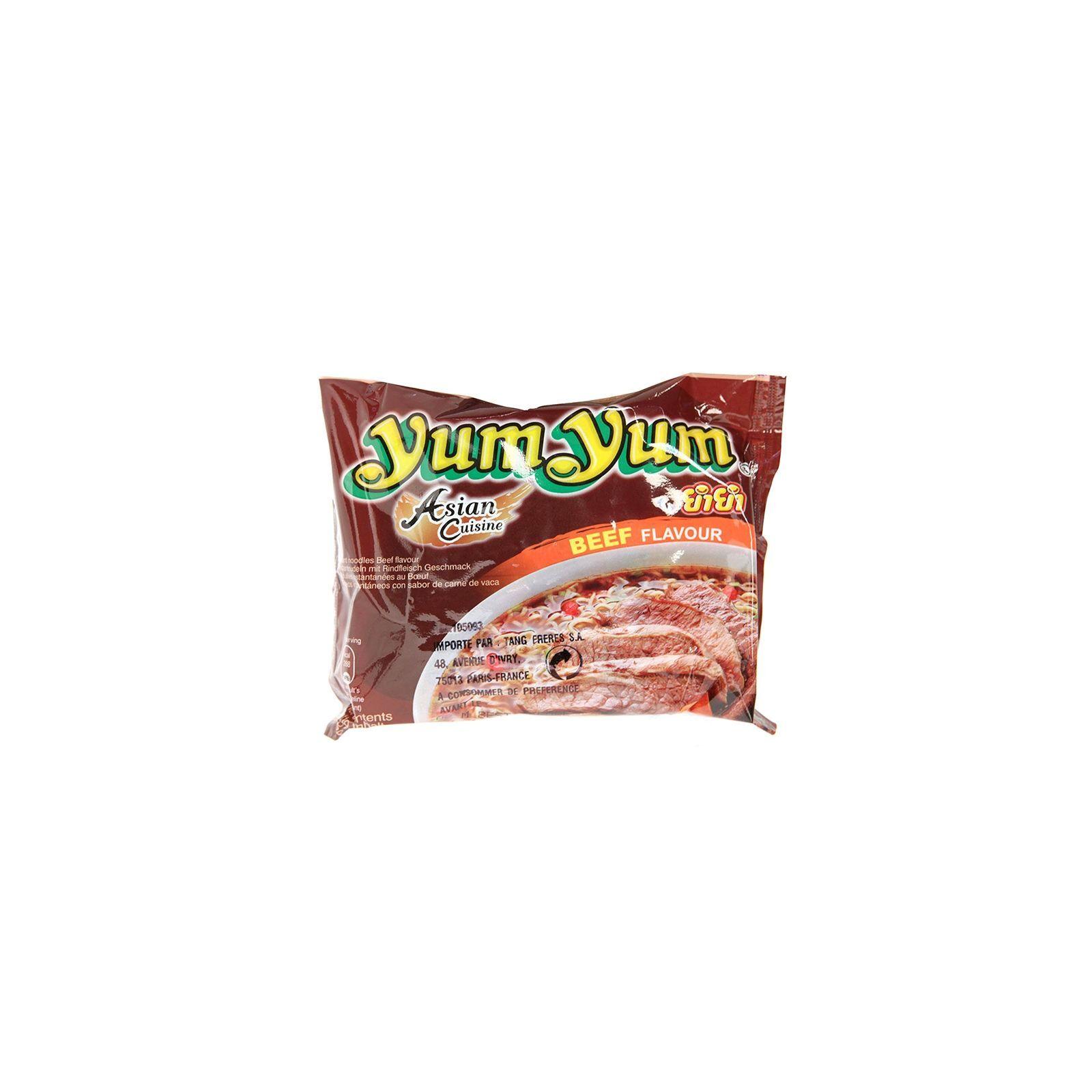 Asia Marché Soupe de nouilles au bœuf 60g YumYum Lot de 30