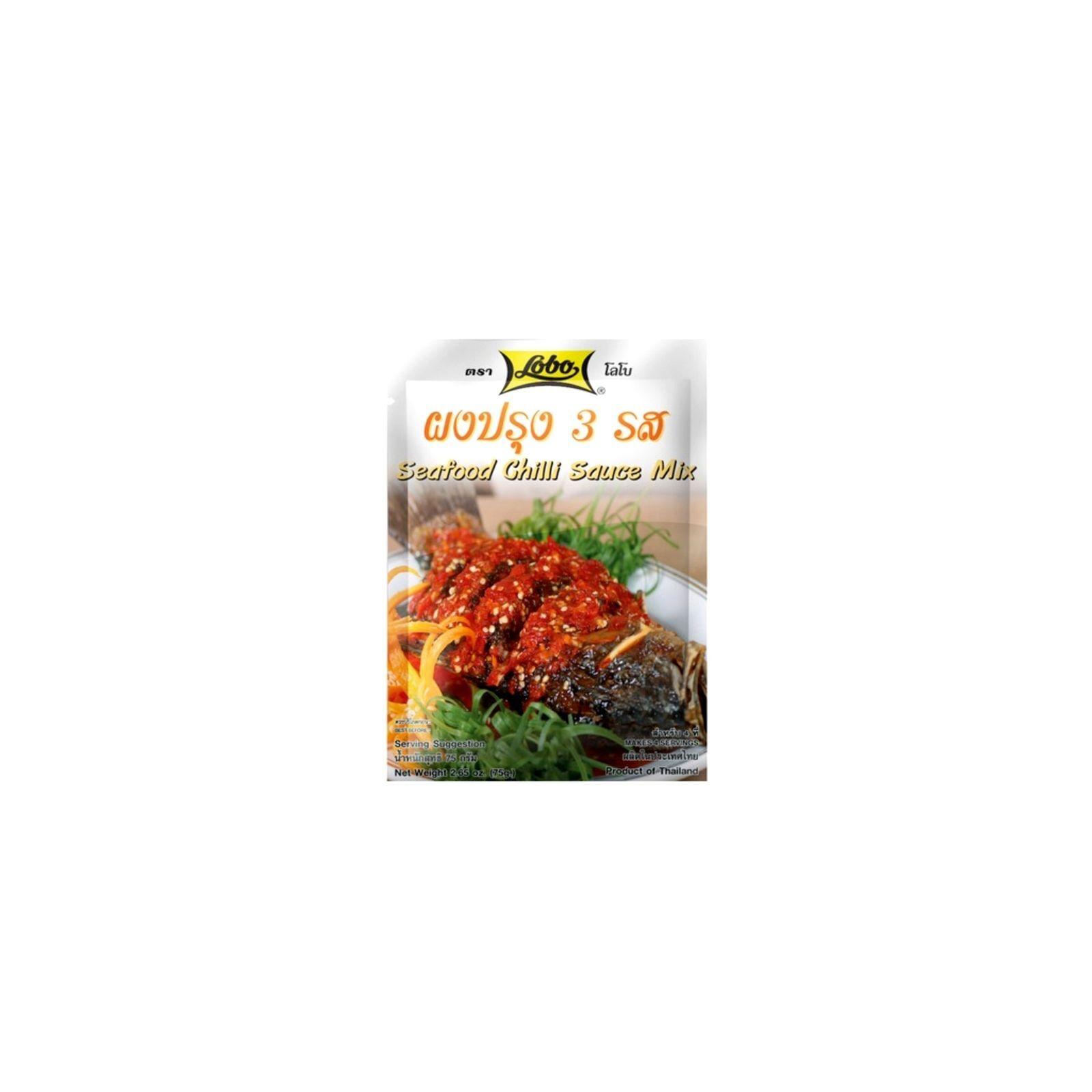 Asia Marché Sauce Thaïe aigre douce Fruits de mer 75g Lobo