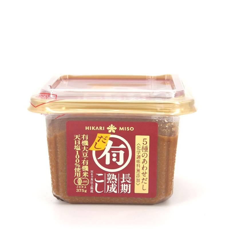 Asia Marché Miso au Dashi BIO 375ml HIKARU MARU-YU