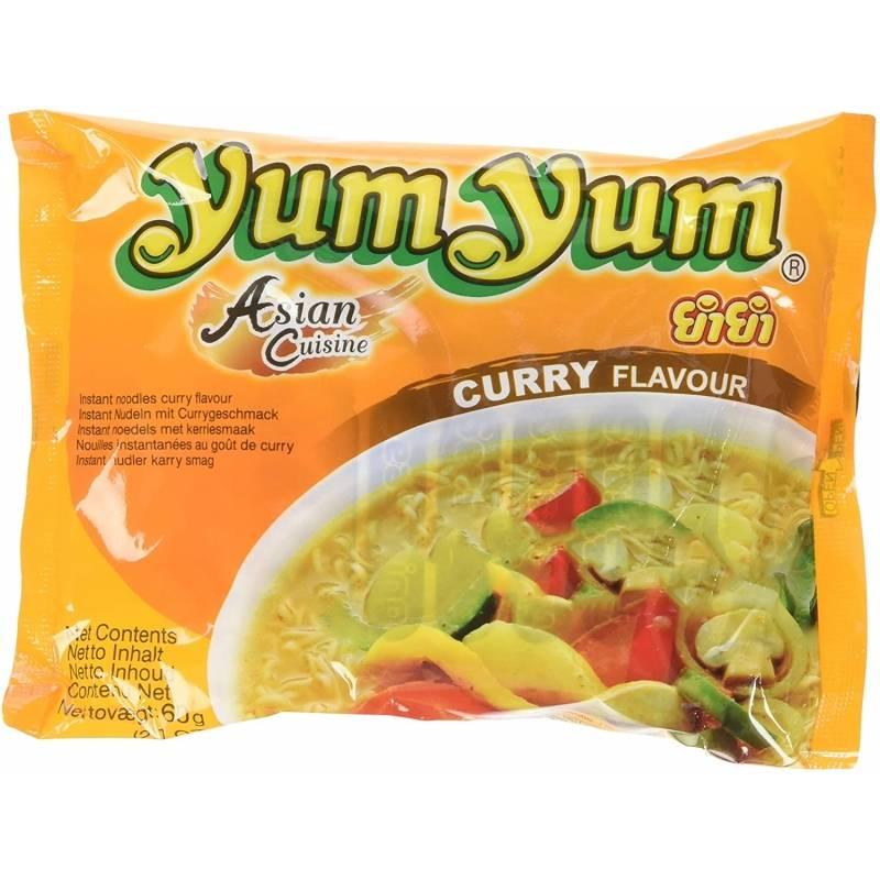 Asia Marché Soupe de nouilles au Curry 60g YumYum Lot de 30