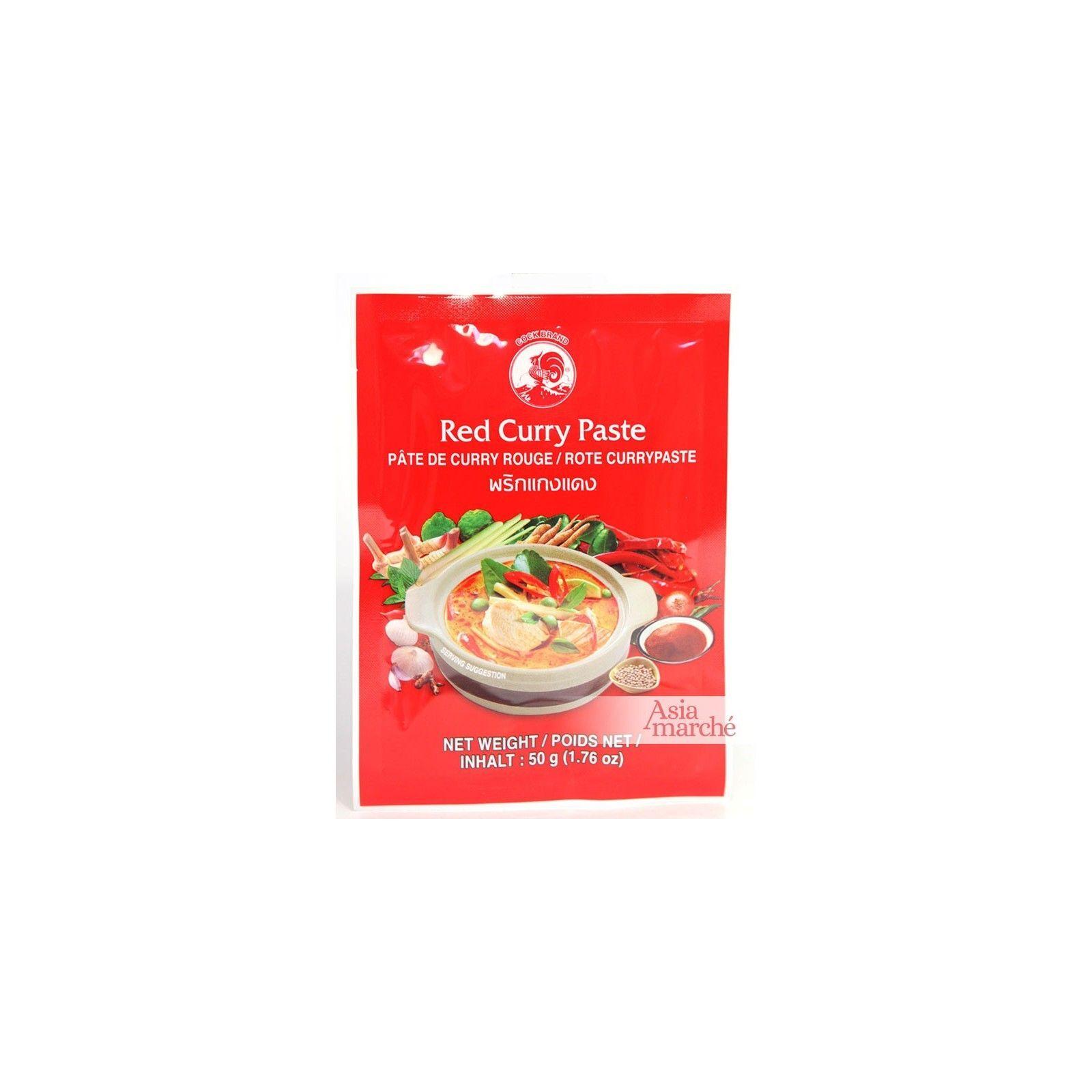 Asia Marché Pâte de curry rouge 50g