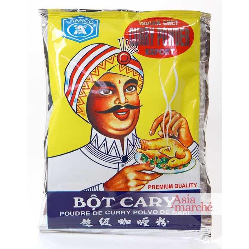 Asia Marché Curry en poudre Bot Curry Vianco 50g