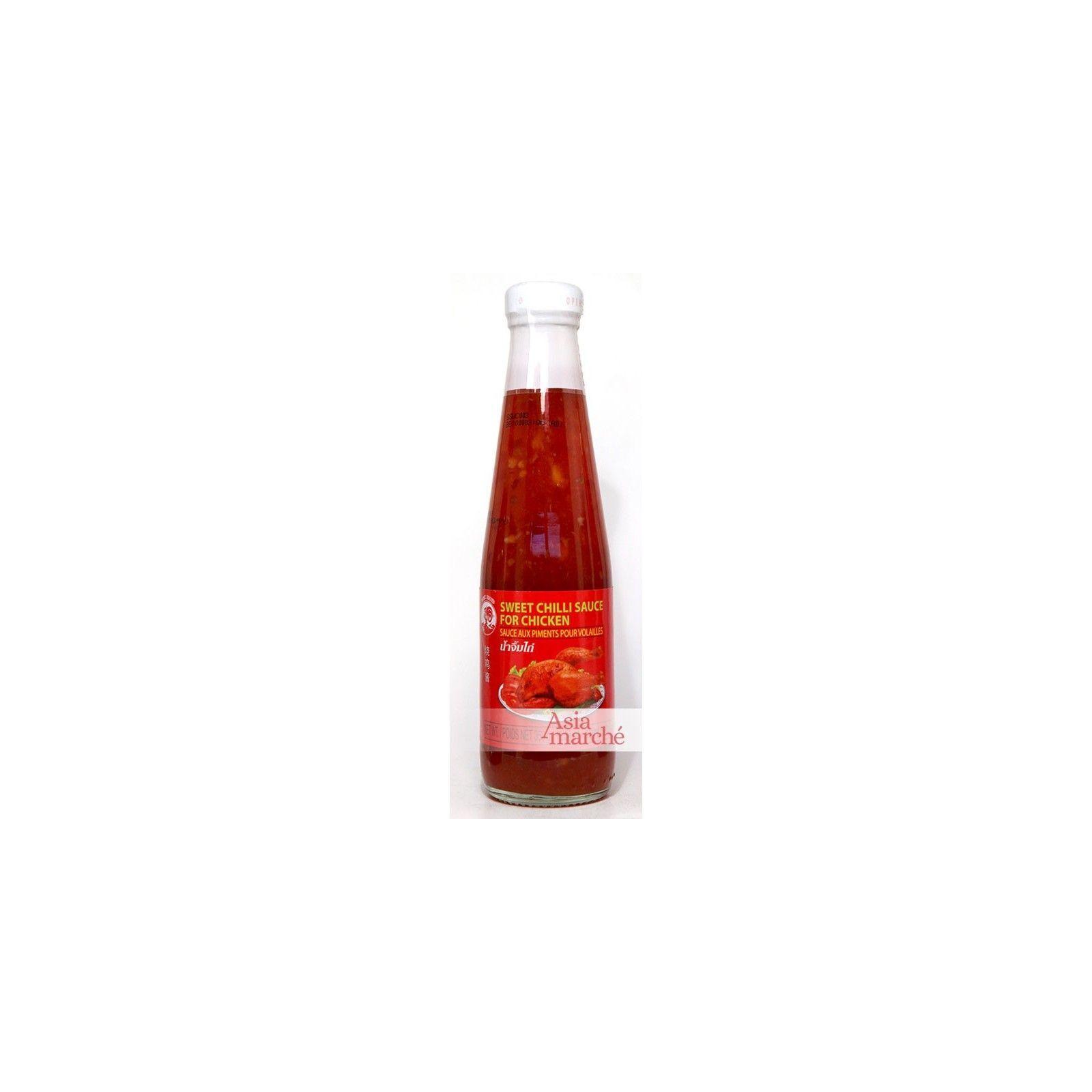 Asia Marché Chili sauce pour Poulet Coq 350g