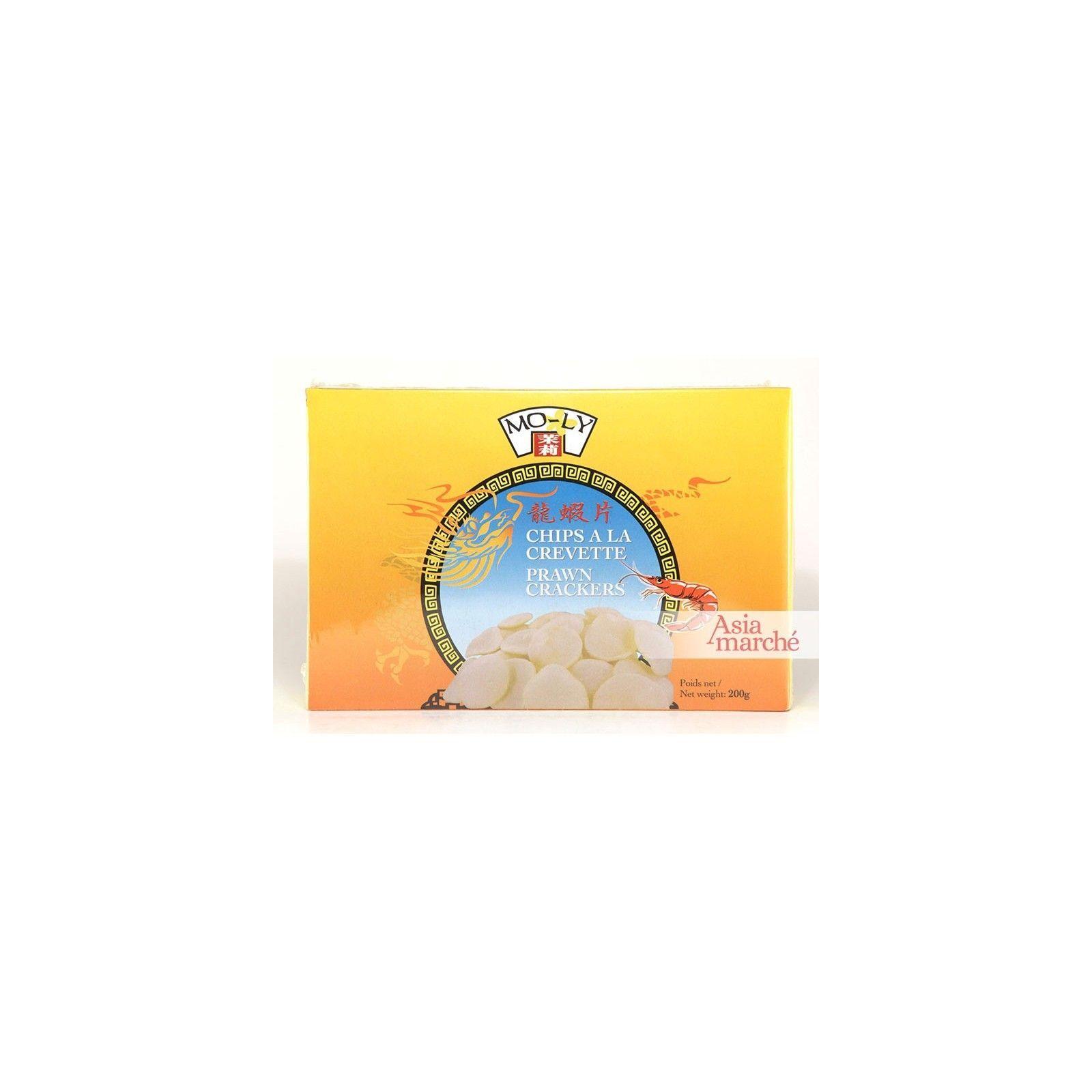 Asia Marché Chips à la crevette à frire 200g