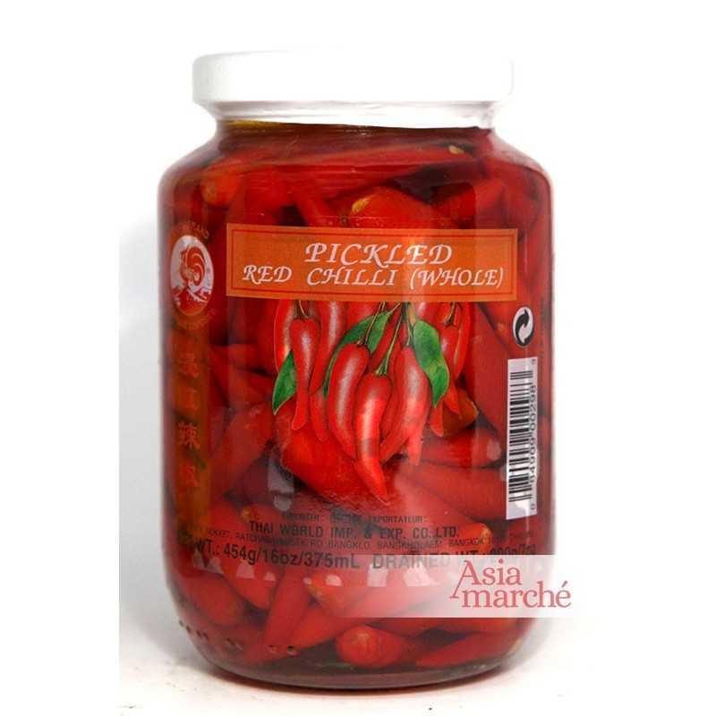 Asia Marché Piments rouges au vinaigre 227g