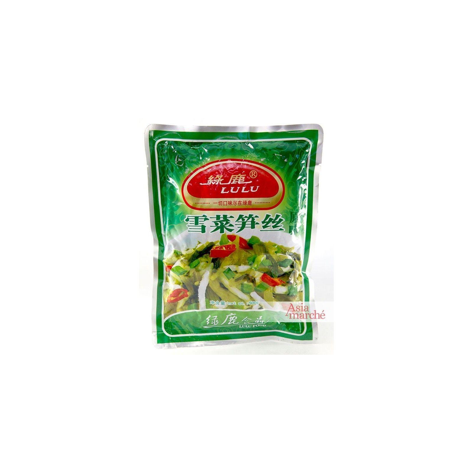 Asia Marché Laitue de bambou salés 500g Lulu