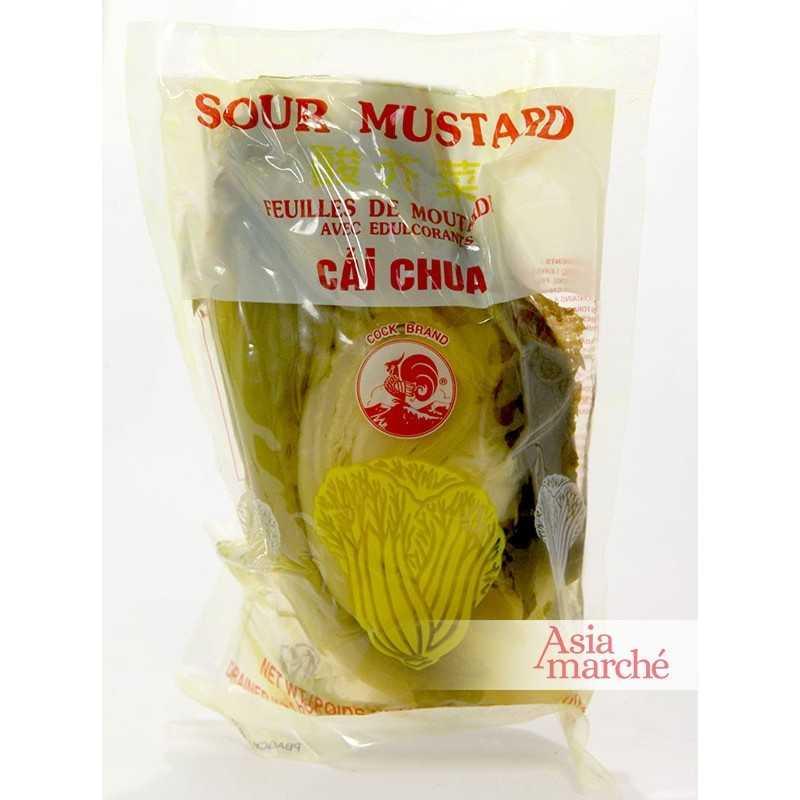 Asia Marché Feuilles de moutarde salées 300g
