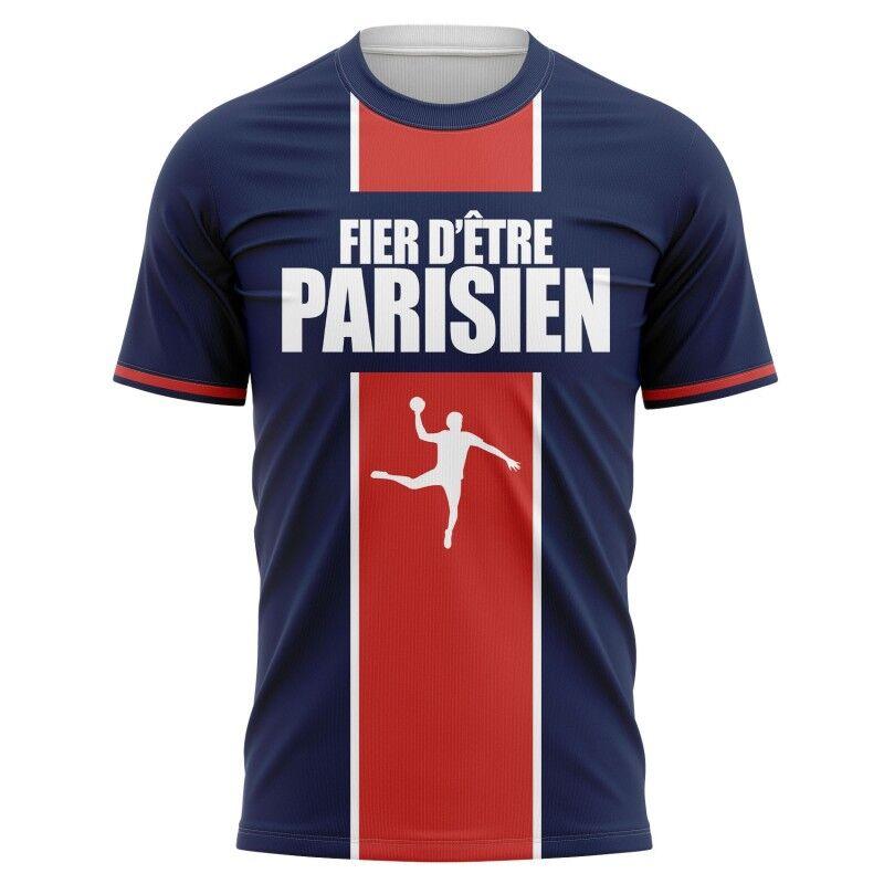 Tribune FC T-shirt Fier d\'être Parisien - Supporters Paris Handball - Tribune FC