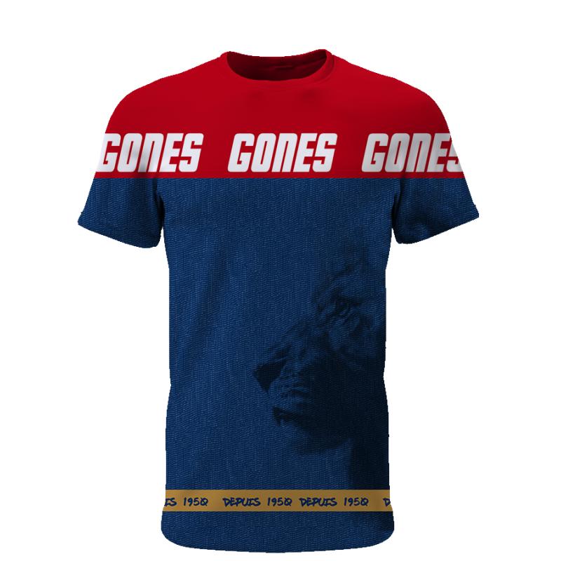 Tribune FC Gones depuis 1950 - Supporters Lyon - Tribune FC