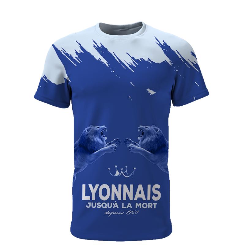 Tribune FC Lyonnais jusqu\'à la mort depuis 1950 - Supporters Lyon - Tribune FC