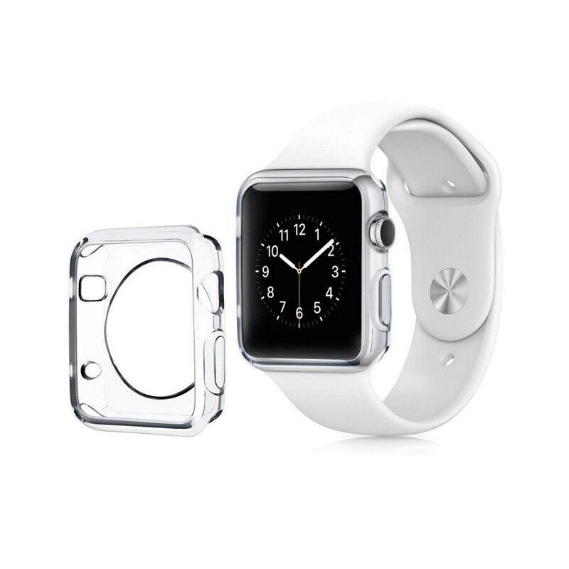 Tout pour Phone Coque silicone Apple Watch 42mm Transparent