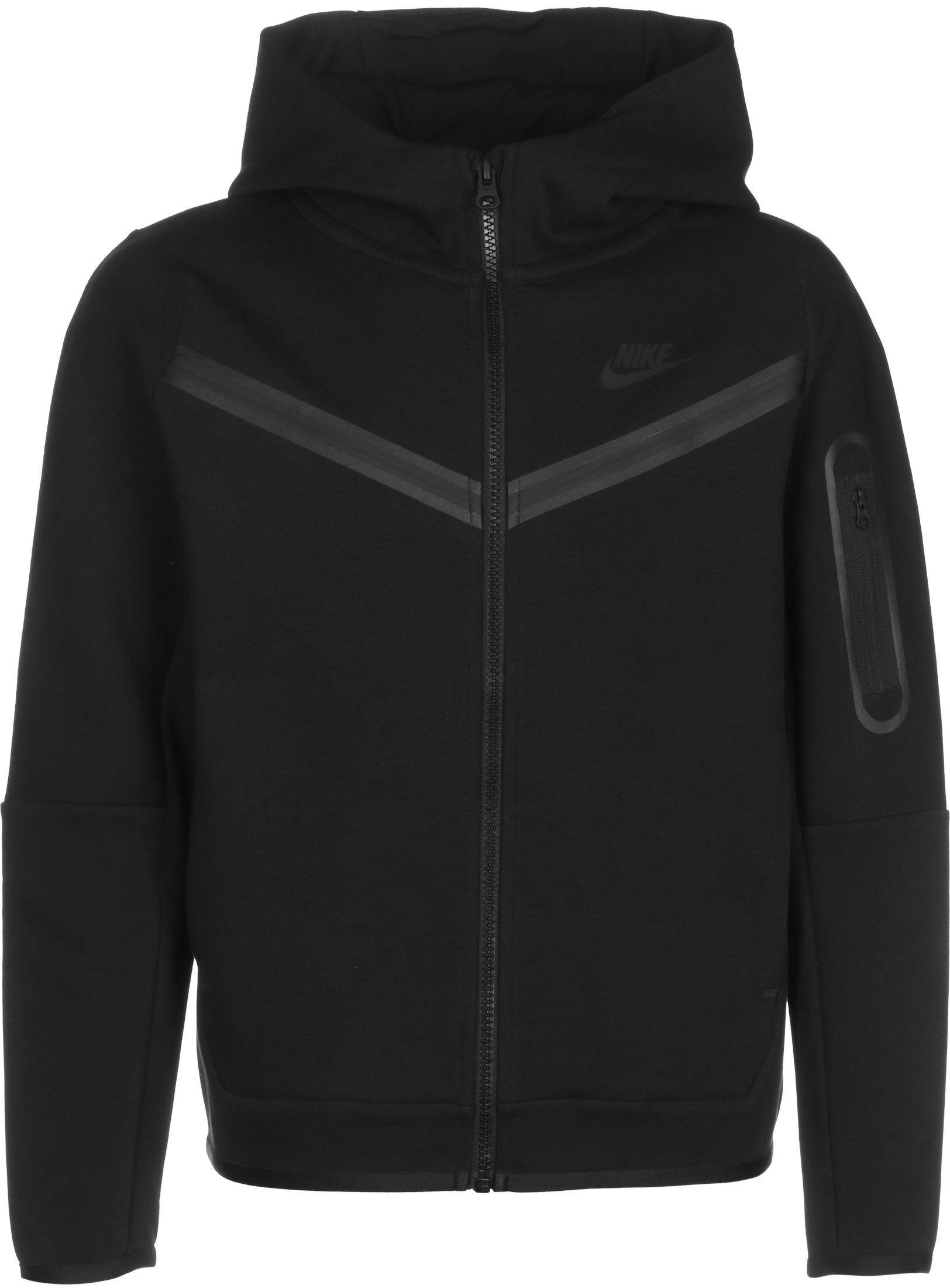 Nike Sportswear Tech Fleece, taille XS, enfant, noir