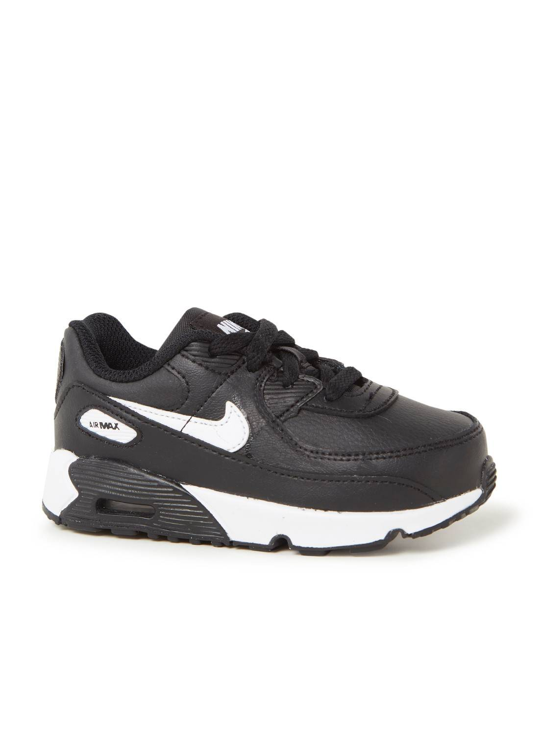 nike Baskets Air Max 90 en cuir - Noir