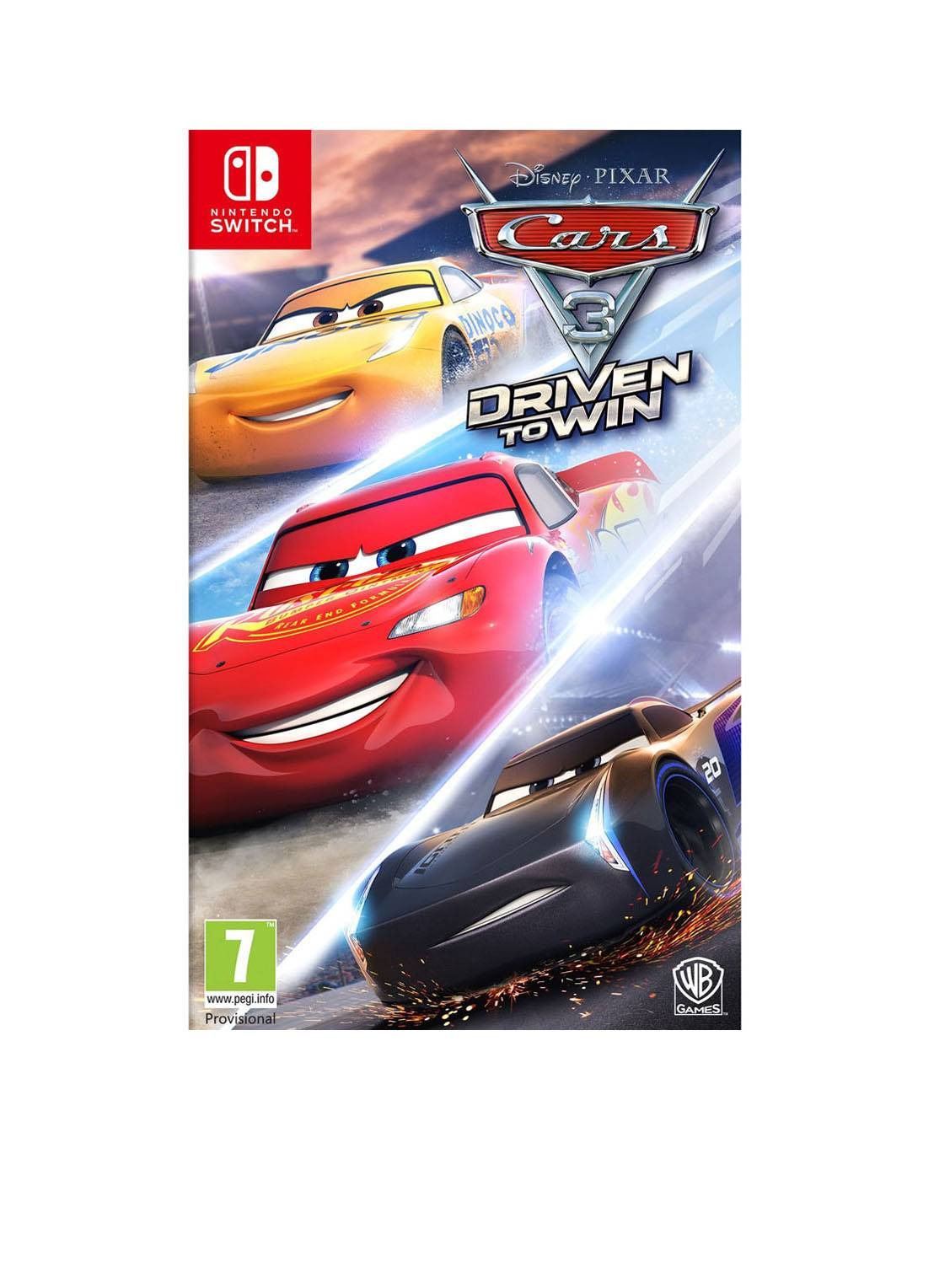 warner bros Cars 3: Driven to Win - Nintendo Switch -