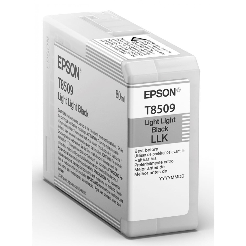 EPSON Cartouche d'encre traceur EPSON SC-P800 - Gris clair - 80ml - T8509