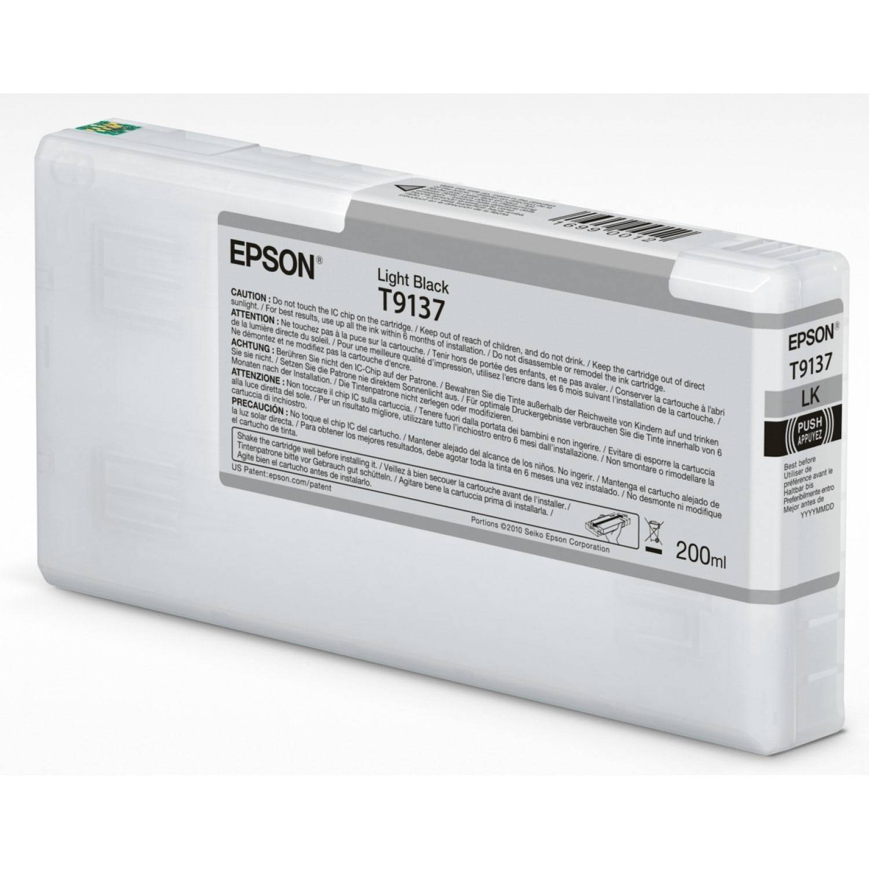 EPSON Cartouche d'encre traceur EPSON SC-P5000 - Gris - 200ml - T9137
