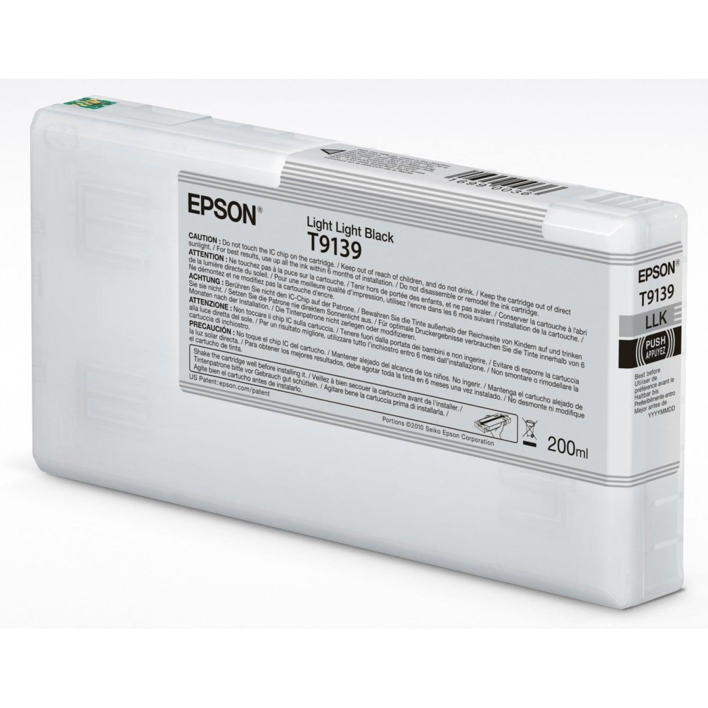EPSON Cartouche d'encre traceur EPSON SC-P5000 - Gris Clair - 200ml - T9139