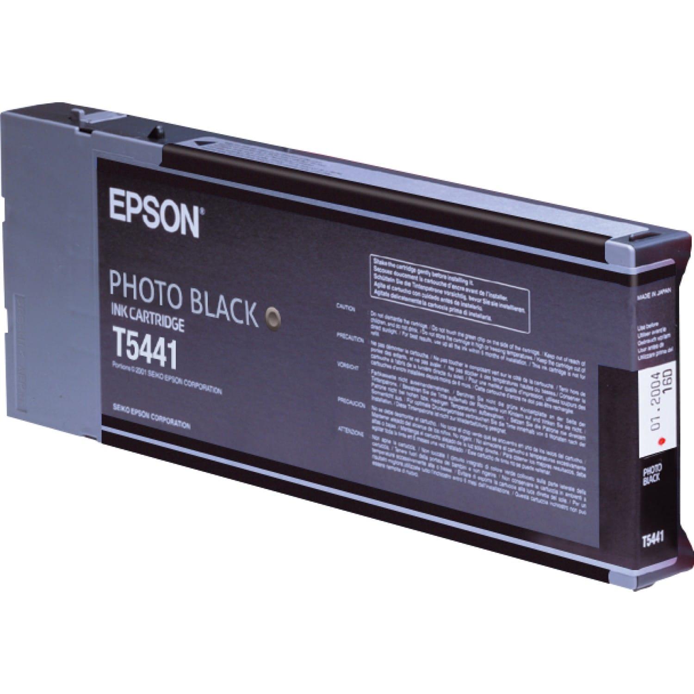 EPSON Cartouche d'encre traceur EPSON T5441 Pour imprimante 4000/7600/9600 Noir - 220ml