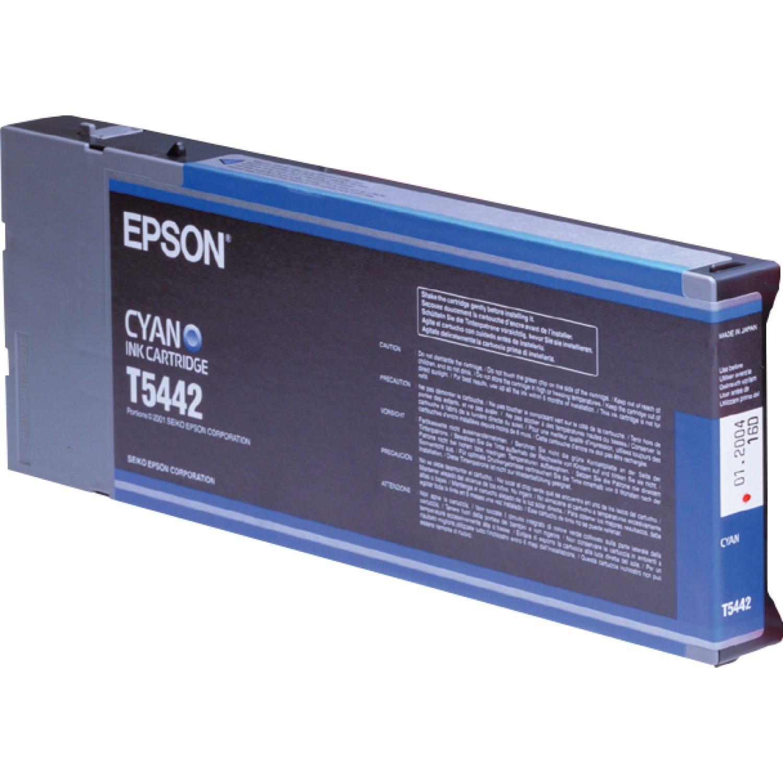 EPSON Cartouche d'encre traceur EPSON T5442 Pour imprimante 4000/4400/7600/9600 Cyan - 220ml