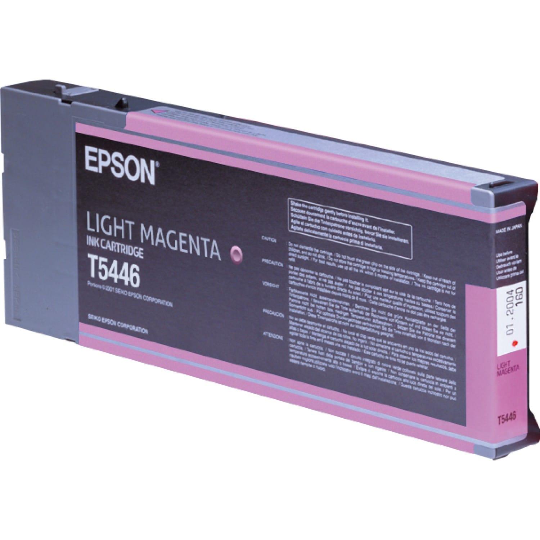 EPSON Cartouche d'encre traceur EPSON T5446 Pour imprimante 4000/7600/9600 Magenta clair - 220ml